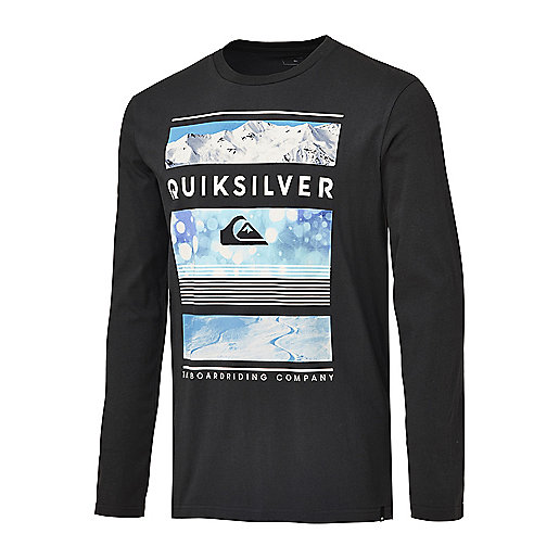 T-shirt manches longues homme Flaxton Yth Rise gris 0EQYZT0 QUIKSILVER