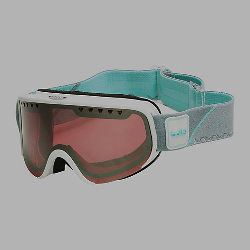 masque de ski femme scarlett blanc menthe vermillon bolle. Black Bedroom Furniture Sets. Home Design Ideas