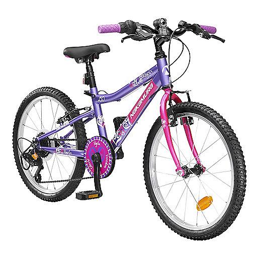 vtt rigide fille 6 8 ans nyota violet nakamura intersport. Black Bedroom Furniture Sets. Home Design Ideas