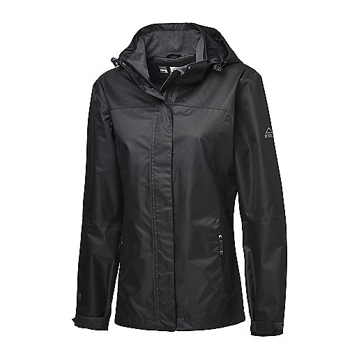 Femme Capuche MC Imperméable Terang INTERSPORT Shell Parka À KINLEY qZwaR6nwgx