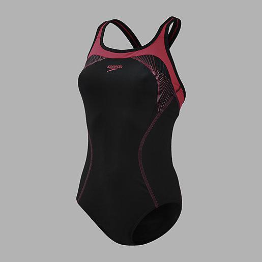 maillot de bain 1 pi ce femme fit kickback speedo intersport. Black Bedroom Furniture Sets. Home Design Ideas