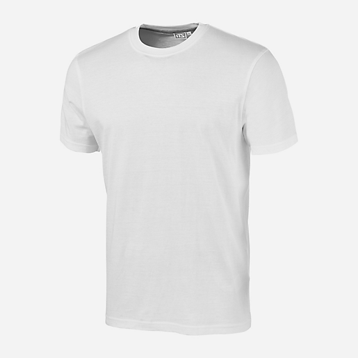 t shirt training homme manches courtes blanc its intersport. Black Bedroom Furniture Sets. Home Design Ideas