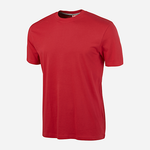 t shirt training homme manches courtes rouge its intersport. Black Bedroom Furniture Sets. Home Design Ideas