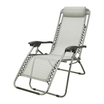 gris fauteuil de relaxation mc kinley. Black Bedroom Furniture Sets. Home Design Ideas