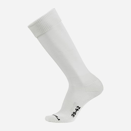 Chaussettes football adulte Team Socks BLANC PRO TOUCH