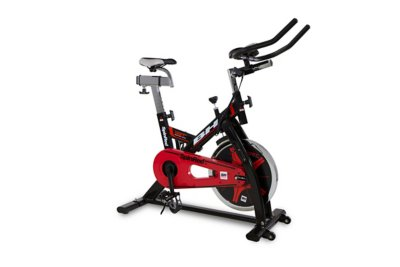 Noir rouge spinred bh fitness - Velo d appartement intersport ...