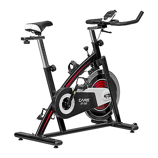 Velo appartement velo spinning noir care intersport - Meilleur velo spinning ...
