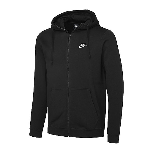 sweatshirt capuche homme sportswear full zip nike intersport. Black Bedroom Furniture Sets. Home Design Ideas