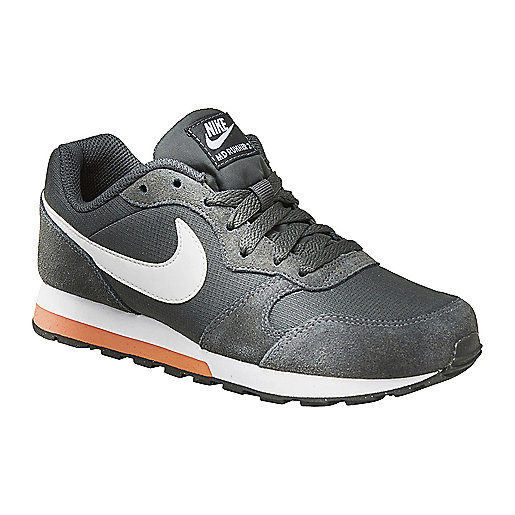 Chaussures Nike MD Runner noires garçon