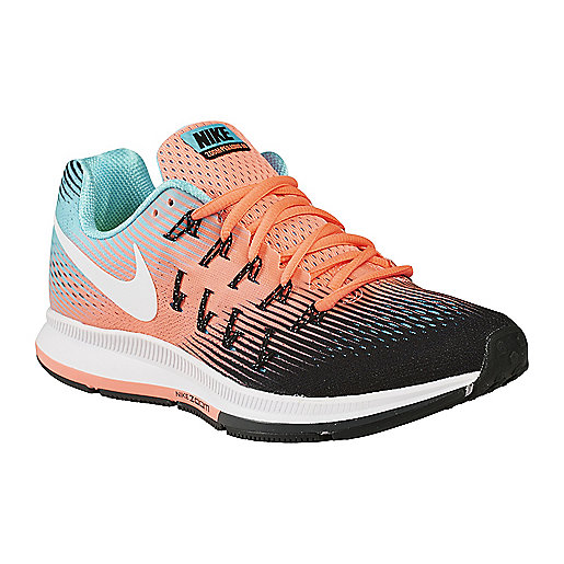 chaussures running femme air zoom pegasus 33 nike intersport. Black Bedroom Furniture Sets. Home Design Ideas