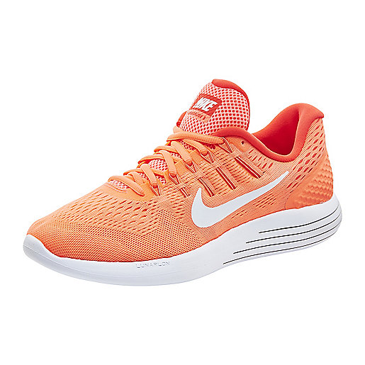 Chaussures de running femme Lunarglide 8 orange-rose 843726  NIKE