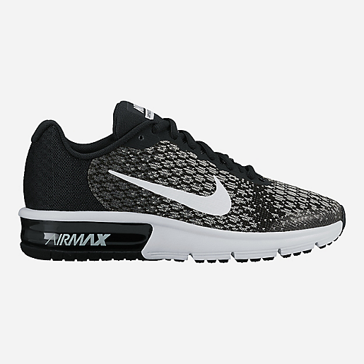nike air max sequent 2 gs noire