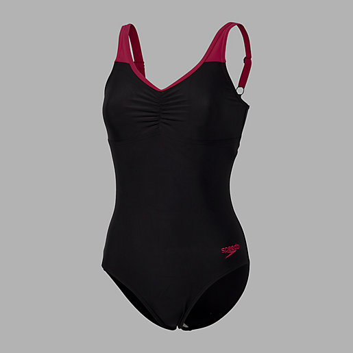maillot de bain 1 pi ce femme essential clipback speedo intersport. Black Bedroom Furniture Sets. Home Design Ideas