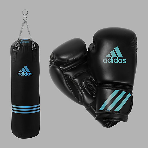 sac de frappe sac de frappe gants bleu adidas intersport. Black Bedroom Furniture Sets. Home Design Ideas