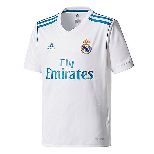 Maillot de football homme Real Madrid Replica Domicile 2017/2018 multicolore AZ8059  ADIDAS