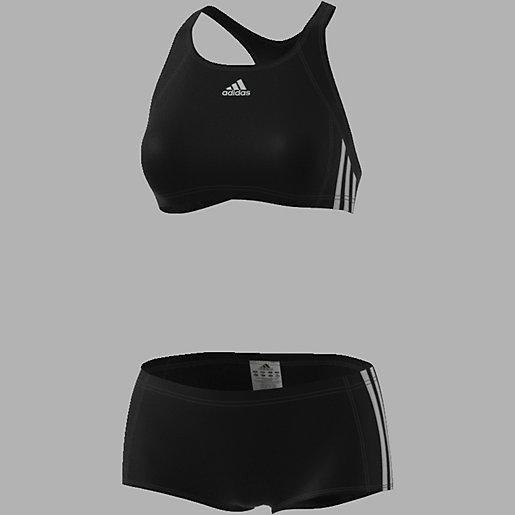 maillot de bain 2 pi ces femme essence core 3 stripes adidas intersport. Black Bedroom Furniture Sets. Home Design Ideas