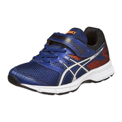 Asics Gel Ikaia 7 enfant scratch bleu orange