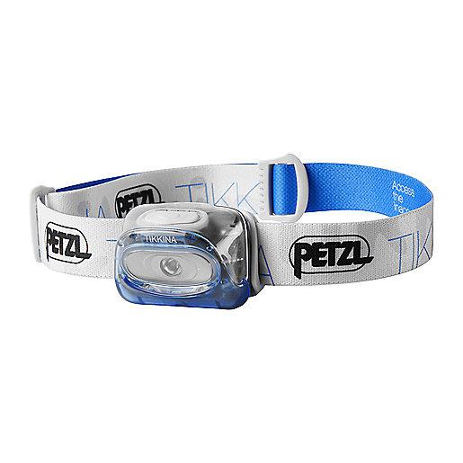 Lampe frontale tikkina 3 bleu petzl intersport - Lampe frontale intersport ...
