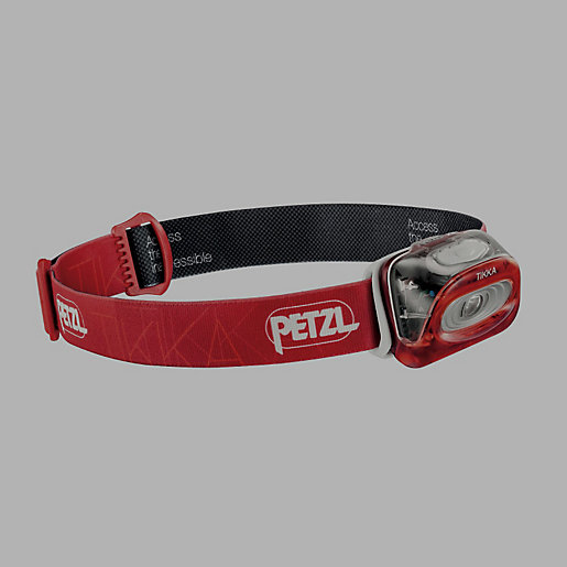 Lampe frontale tikka 3 rouge petzl intersport - Lampe frontale intersport ...