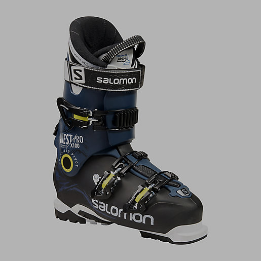 chaussures de ski homme quest pro x100 salomon intersport. Black Bedroom Furniture Sets. Home Design Ideas