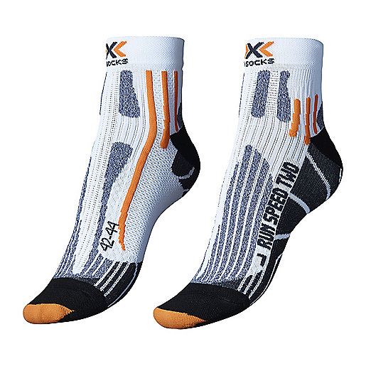 Speed Two blanc-noir RU24325 X-SOCKS