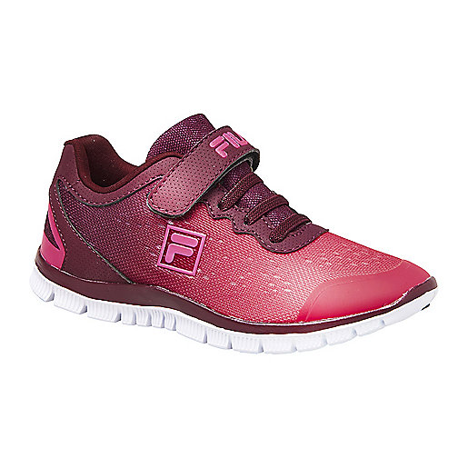 Sneakers à scratch enfant Metrique Rouge 1010213 FILA