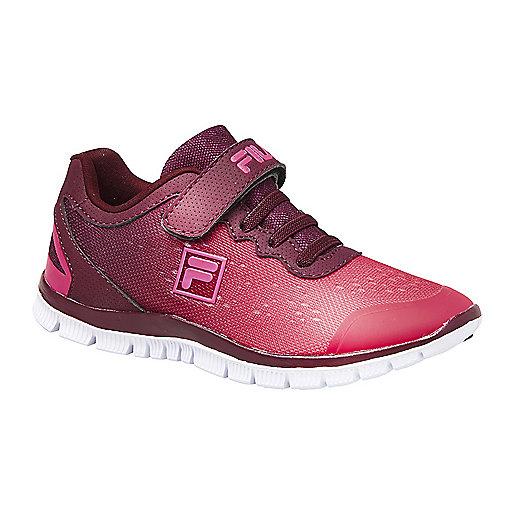 36a5c1ec94f3b Sneakers à scratch enfant Metrique Rouge 1010213 FILA