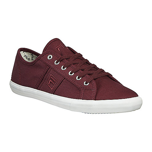 934218e78acdf Chaussures en toile homme Keystone I Low Rouge 1020003 FILA