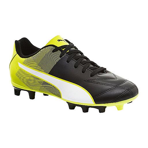 e7e9e8beb0229 Chaussures de football garçon Adreno Fg Noir 103473 PUMA
