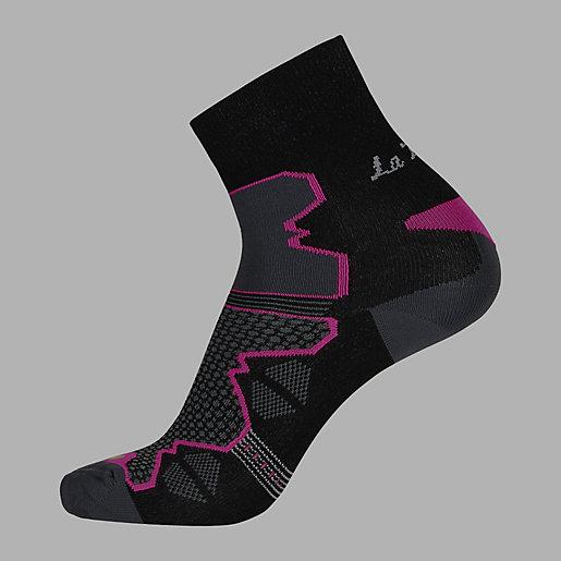 nouveaux styles 9f14c 91e8a Chaussettes de randonnée femme La Double Trek THYO