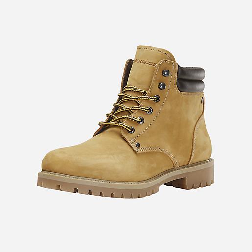 Boots homme Jfwstoke Nubuck Honey JACK JONES
