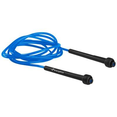 entra/înement fitness Sporteq/® Corde /à sauter r/églable en cuir 2,7 m pour exercices a/érobic de vitesse