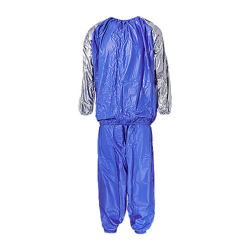 Ensemble de sudation Sauna Suit bleu 145289  ENERGETICS