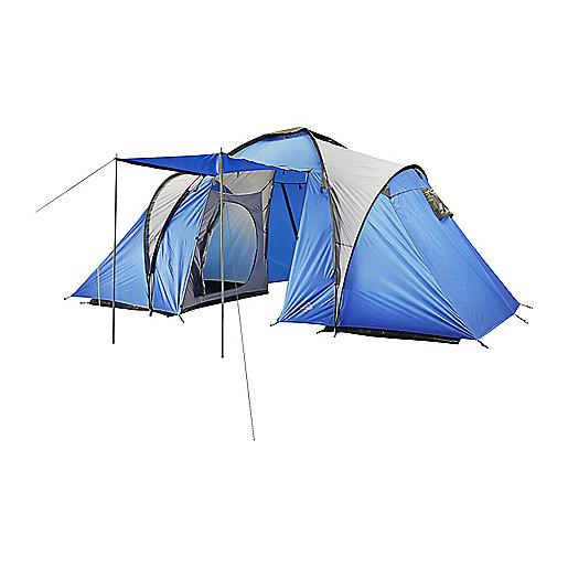 3708d9a5fd851 Tente de camping Family 4 Bleu 162625 MC KINLEY