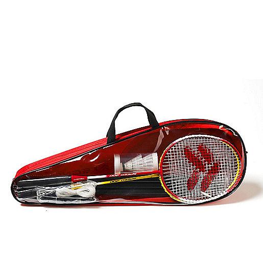 ce57030b6317f Set De Badminton 2 Joueurs Speed 200 ROUGE TECNO PRO | INTERSPORT