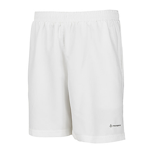 Short de tennis homme Tp Curty blanc 165715  TECNO PRO