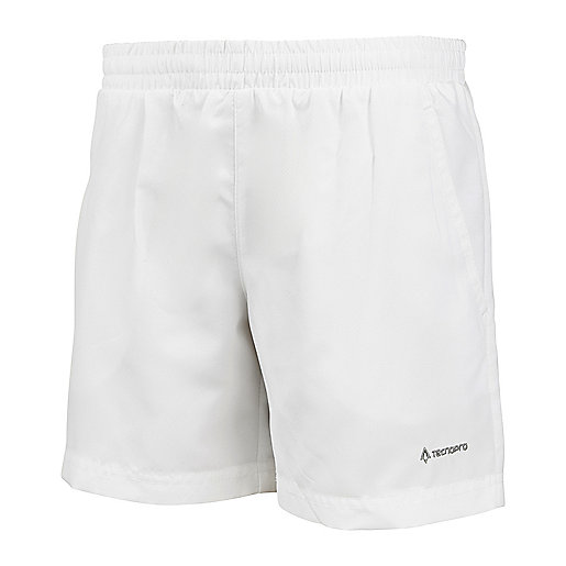 Short de tennis enfant Curty blanc 165716  TECNO PRO
