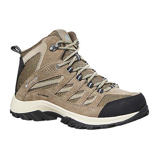 Chaussures De Randonnée Femme Crestwood Mid Waterproof COLUMBIA ...