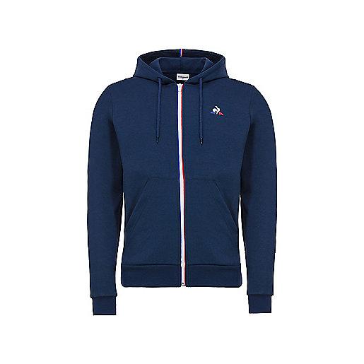 Veste zippée à capuche homme Essentiels N 1 M Multicolore 1810482 LE COQ  SPORTIF dbac10d299f