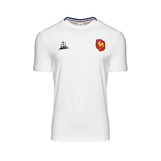 Haut d entraînement rugby manches courtes homme FFR Multicolore 1820582 LE  COQ SPORTIF ddcdcf6d85c0