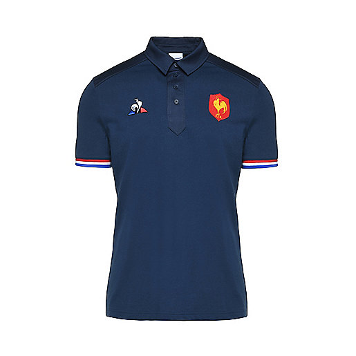 821da0ffa8a Polo de rugby manches courtes homme FFR Multicolore 1820655 LE COQ SPORTIF