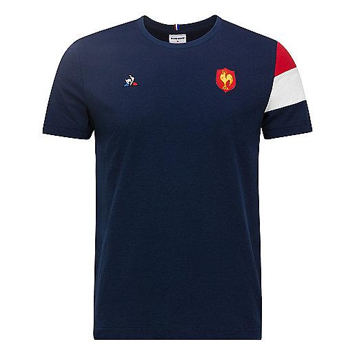ff57b36662d81 Tee-shirt manches courtes homme FFR Multicolore 1821442 LE COQ SPORTIF