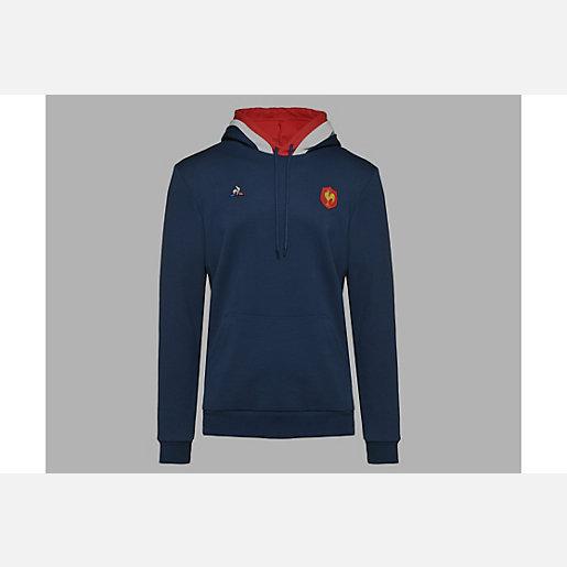 Sweatshirt de rugby à capuche homme FFR LE COQ SPORTIF