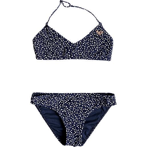 cd31c3d0b5 Haut de bikini bralette triangle fille 8-16 ans Seaside Lover Multicolore  203209 ROXY