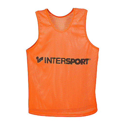 Chasuble d'entraînement orange 2180045 INTERSPORT
