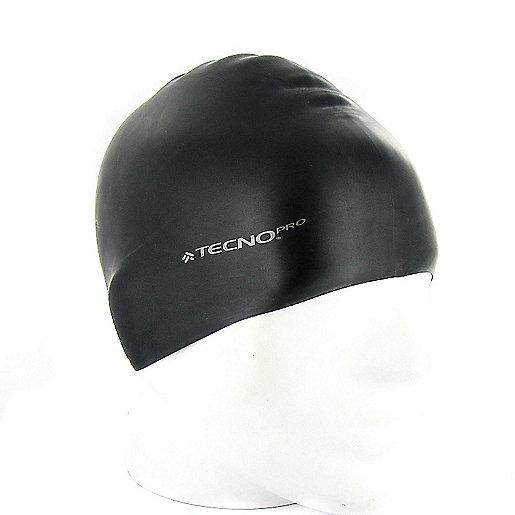 dcc22f89ed8 Bonnet de bain femme en silicone Noir 2199086 TECNO PRO