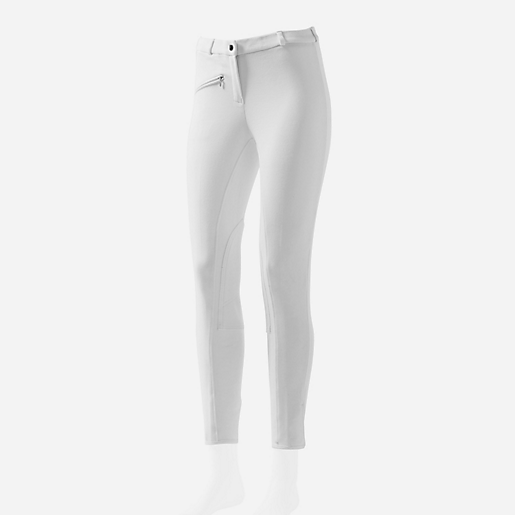 Pantalon d'équitation adulte Jump'Away  BLANC  SIERRA