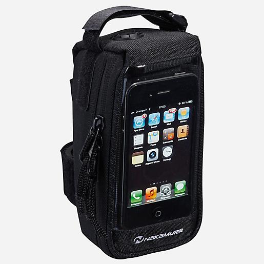 Sacoche De Support Smartphone Tactile Noir Nakamura Intersport