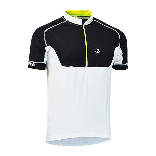 Maillot cycliste manches courtes homme Sportline Noir 2248346 NAKAMURA