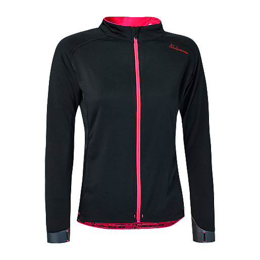 Maillot cycliste manches longues femme 17 Noir 2248382 NAKAMURA